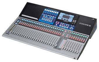 Mixing Tables_Presonus StudioLive 32 Series III