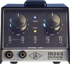 Universal Audio _Previo_SOLO/610 Classic Tube Preamplifier & DI Box