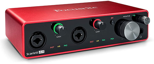 Focusrite  4i4 3rd GEN   USB-C