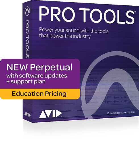 Pro Tools, 1-Year Updates + Standard Support Plan - Education
