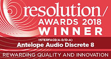 Antelope Audio, winner awards 2018