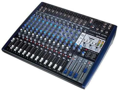 PreSonus StudioLive AR16 USB · Mesa de mezclas
