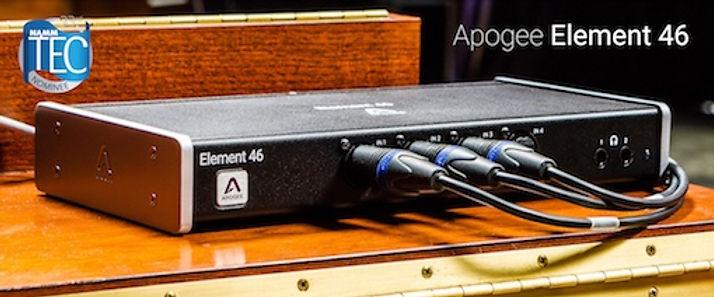 Interface Apogee Element 46
