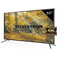 "TD Systems K55DLM8U - 55"" UHD 4K (Resolución Ultra HD 4K, 3x HDMI, VGA, USB Repr"