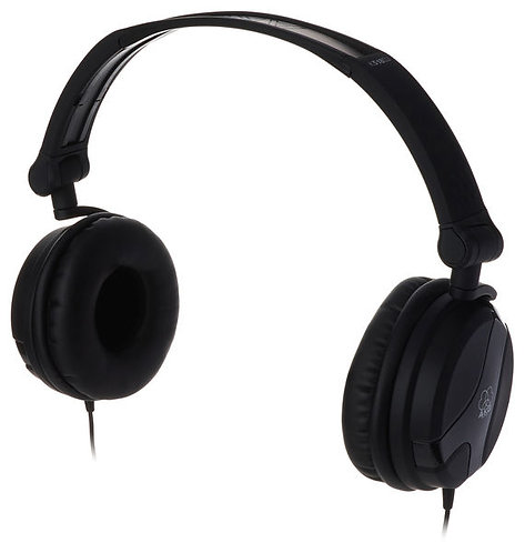 Headphones Dj_AKG K-518 BLK