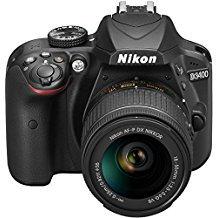 Nikon D3400 - Kit de cámara réflex