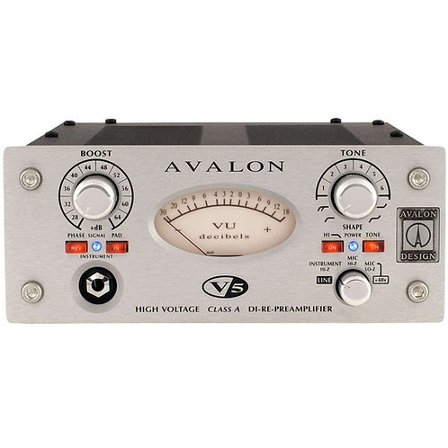 Avalon V5 Previo, DI y Re-amp