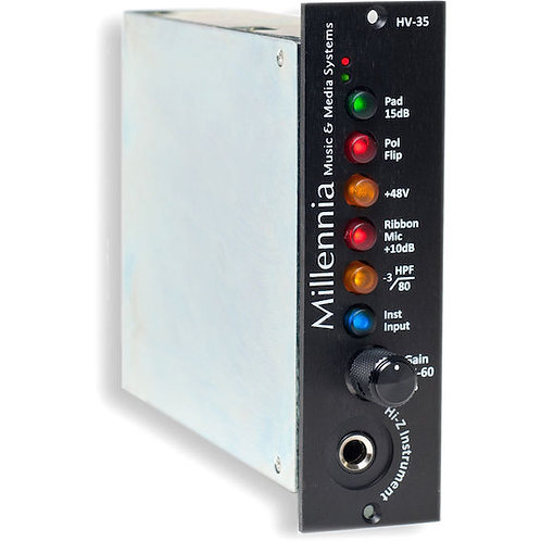 MILLENNIA Serie 500 _HV-35 Mic and Instrument Preamplifier
