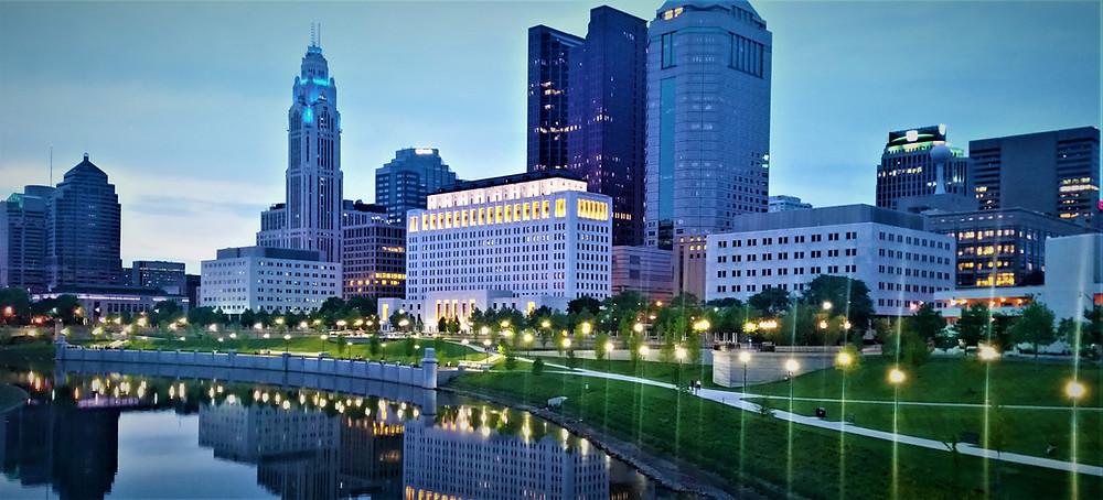 Scioto Mile - Downtown Columbus Ohio
