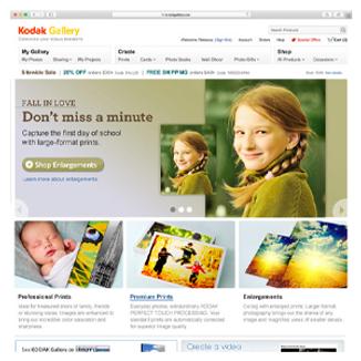Kodak Gallery Website