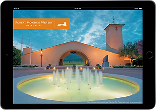 Robert Mondavi Winery iPad App