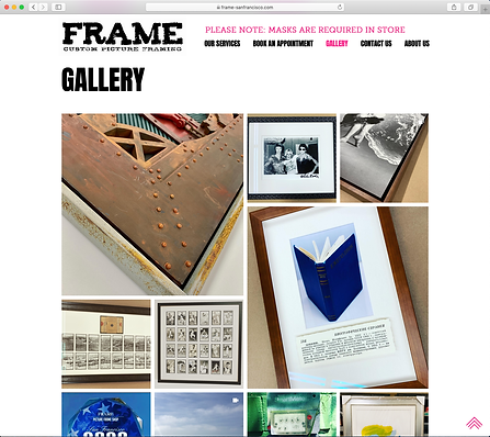 FRAME San Francisco Gallery