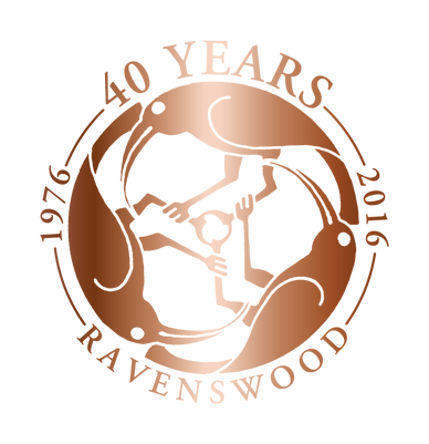 Ravenswood 40th Anniversary Logo