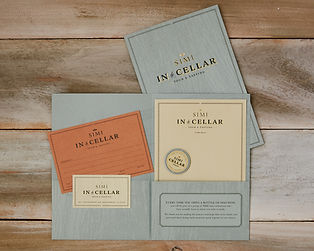 SIMI Winery Tour Collateral
