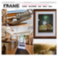 FRAME San Francisco Website