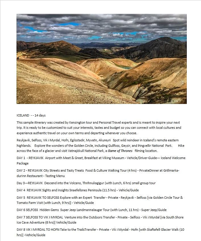 Iceland Itinerary Page 1.JPG
