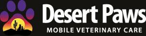 Desert Paws Mobile Vet Logo
