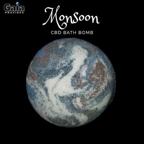 Monsoon  | Desert Creosote Bath Bomb