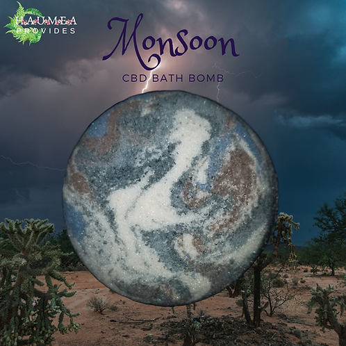 Monsoon Bath Bomb