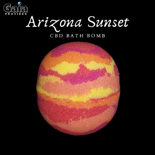 Arizona Sunset    Desert Wildflower & Agave Bath Bomb
