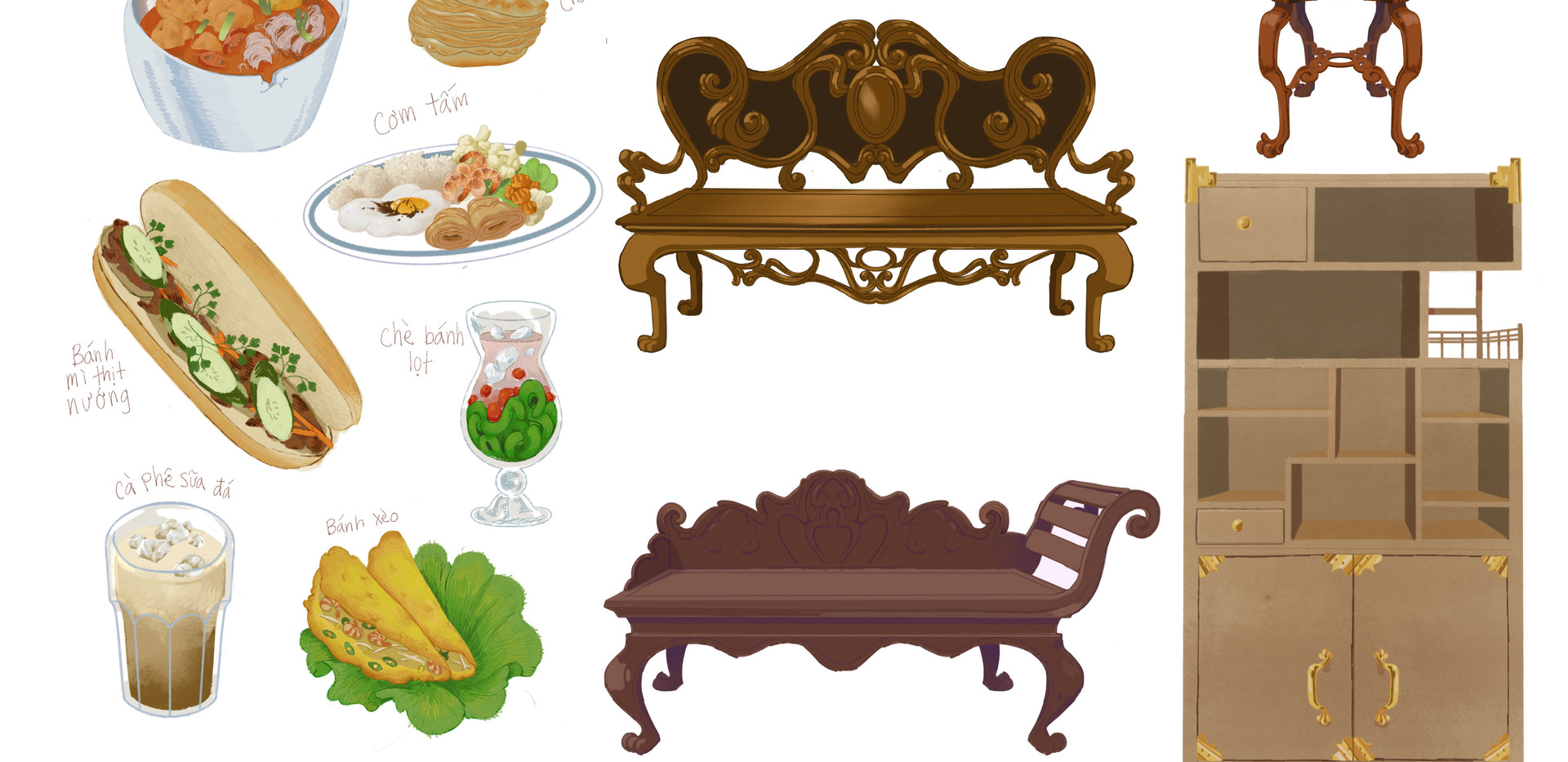 Food and Furniture