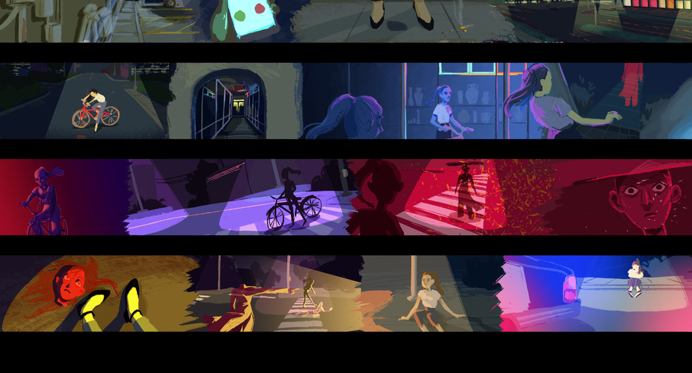 BFA2 Film Color Script