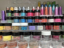 GLITTER, SEQUENCE & PIGMENTS