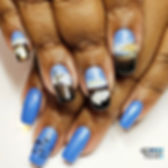 All #handpainted with _youngnailsinc_Mis