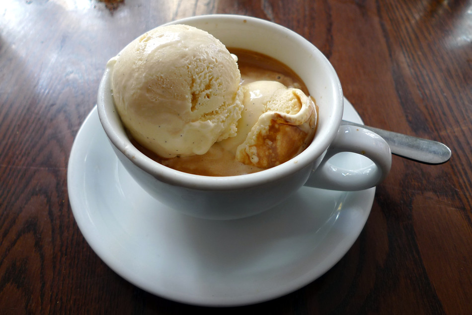 A Most Unusual Affogato