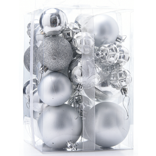 STERLING BAUBLE PACK (24pac)
