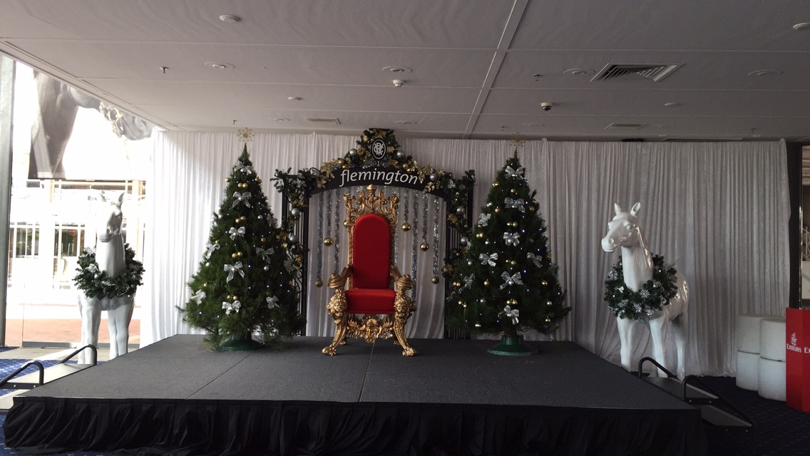 Commercial Packages with Xmas Trees