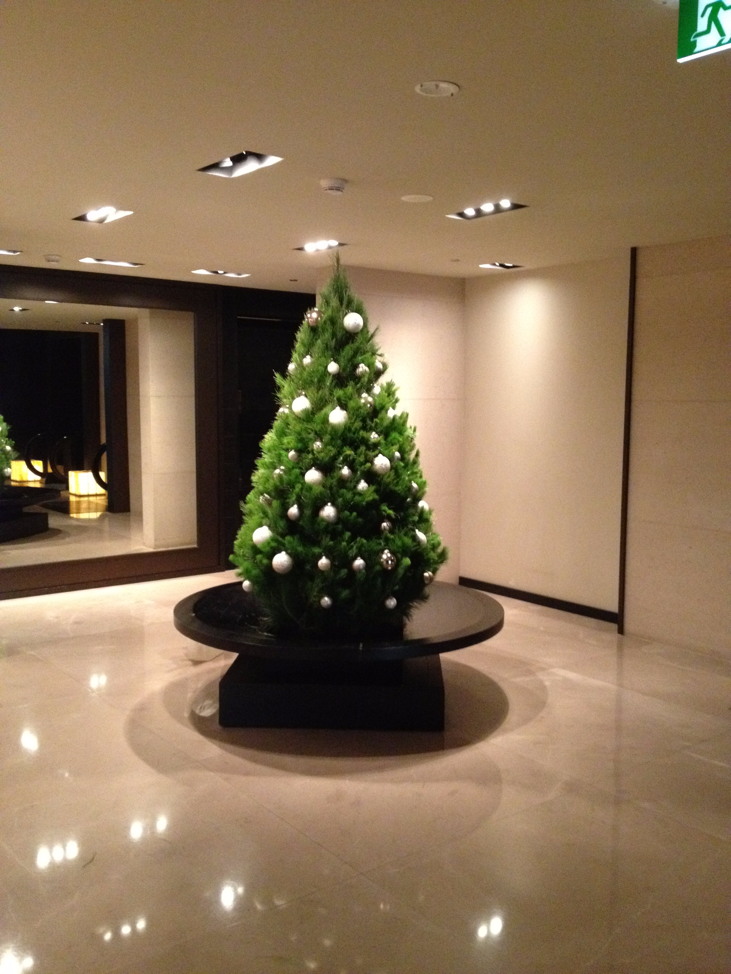 Commercial Decorated Christmas Tree