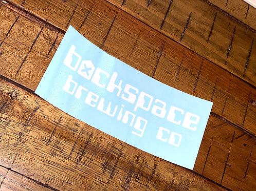 Backspace Brewing Co Vinyl Cut