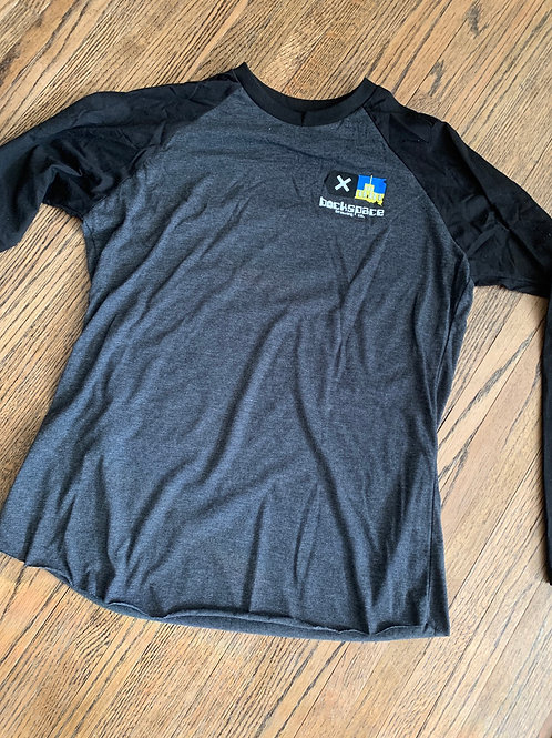 Backspace Brewing Co- Baseball Tee