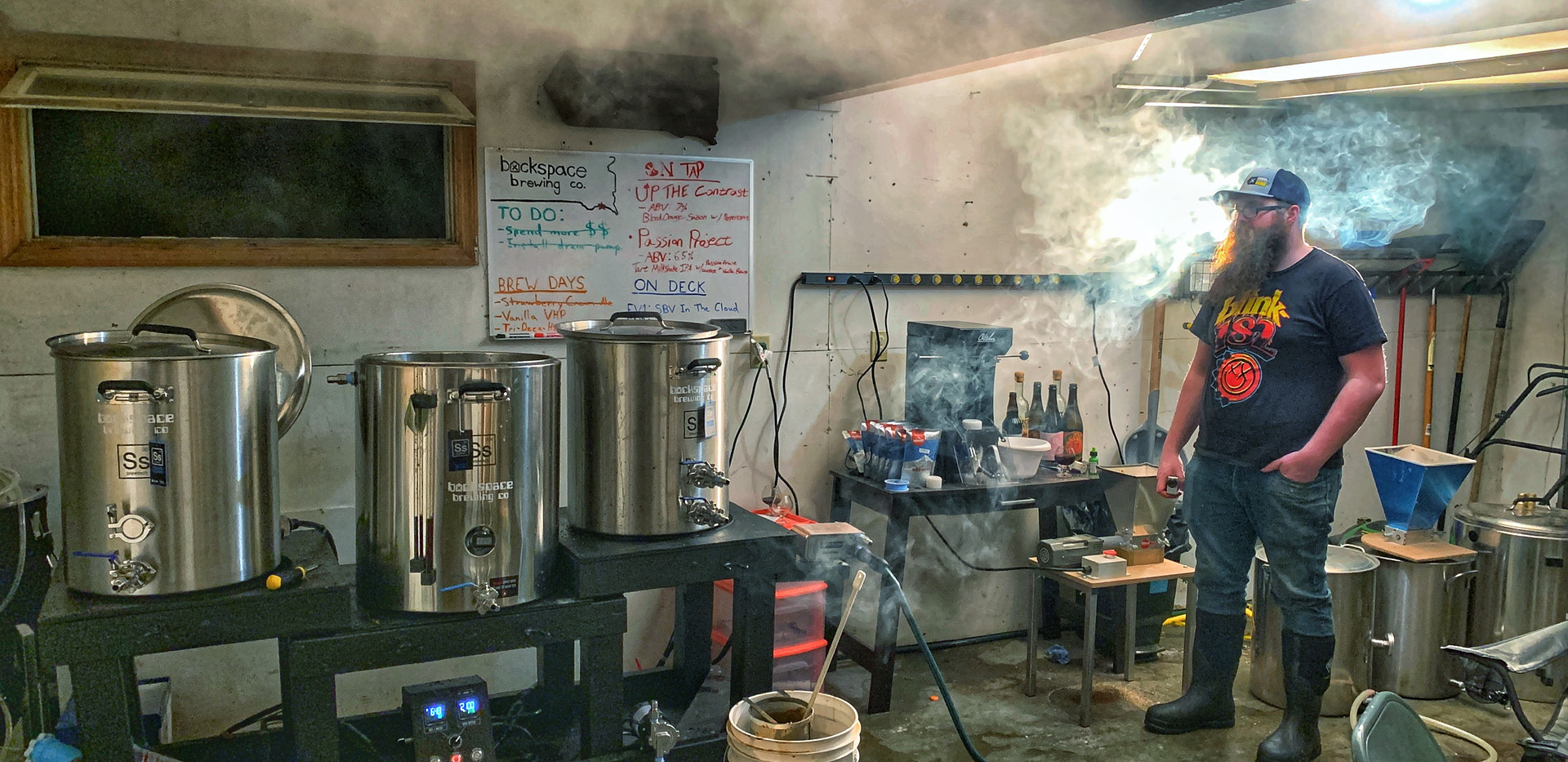 Early Brew Day!