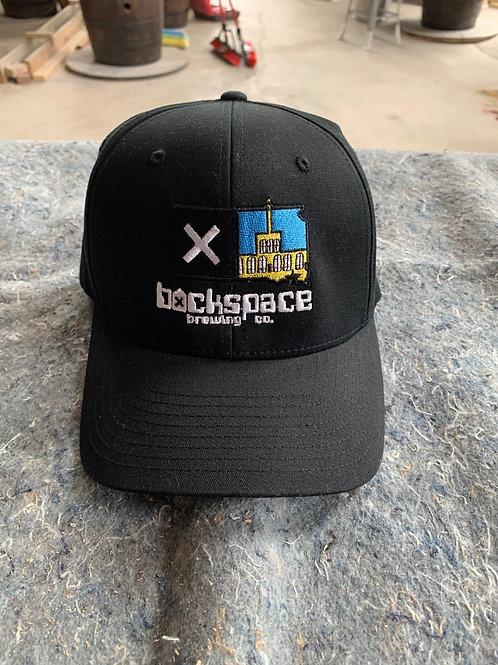 Backspace Brewing Co- Flex Fit Hat