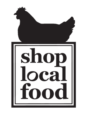 Shop Local Food Logo