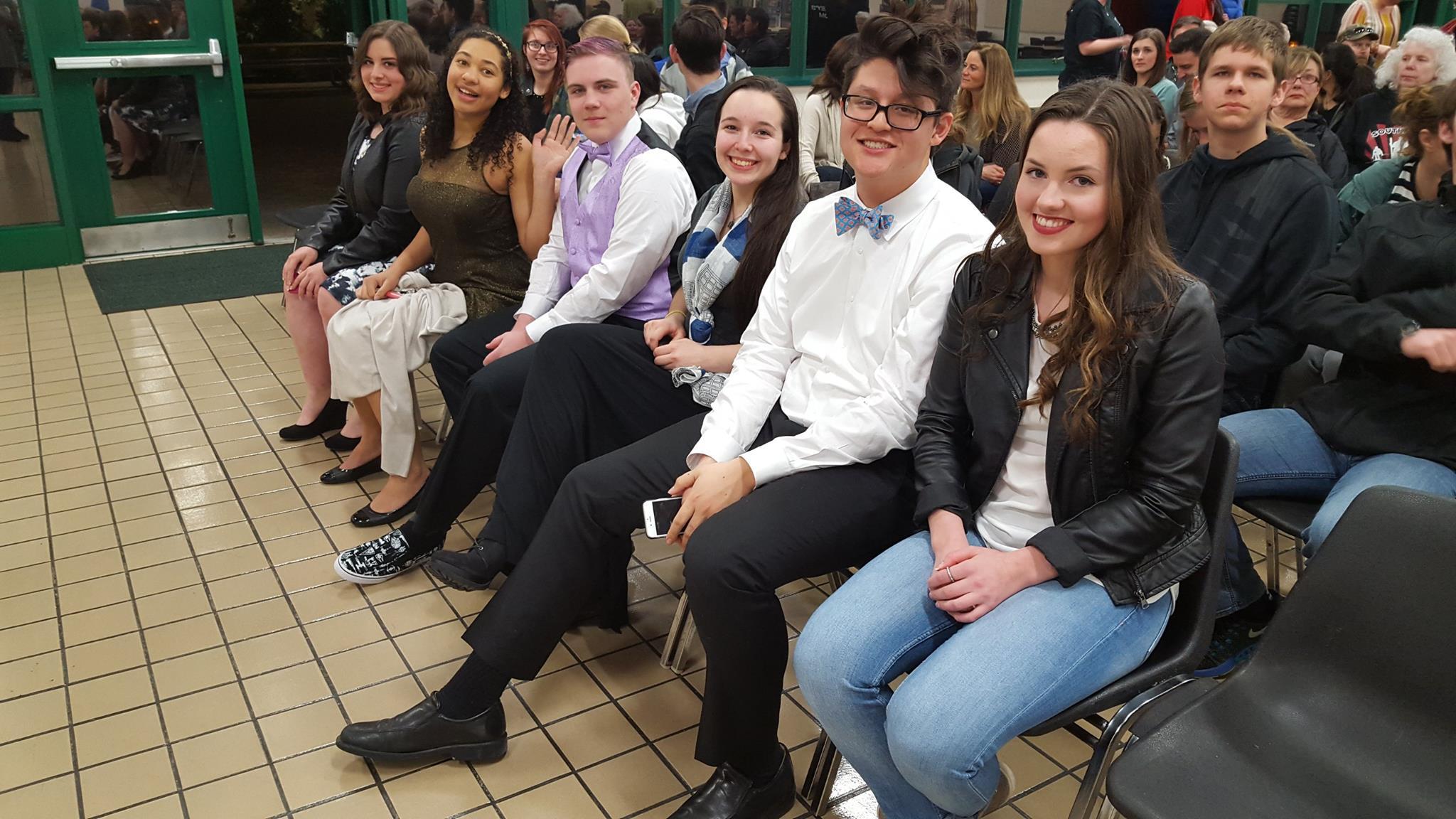 Team at Awards