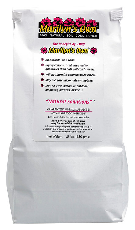 Marilyn's Own Natural Soil Conditioner