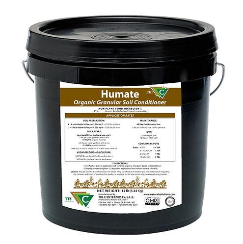 Tri-C Humate - Certified Organic Granular Soil Conditioner