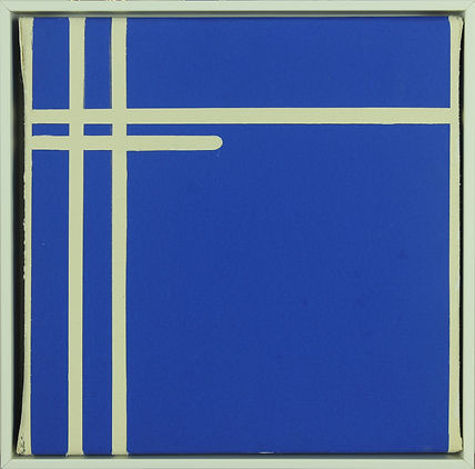 Jackie Flanagan Animated Line in Blue I