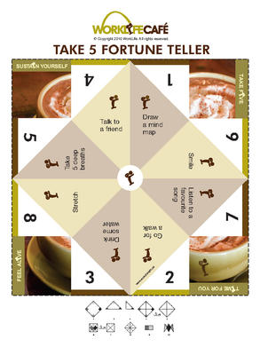 Work Life Cafe FREE Fortune Teller Take