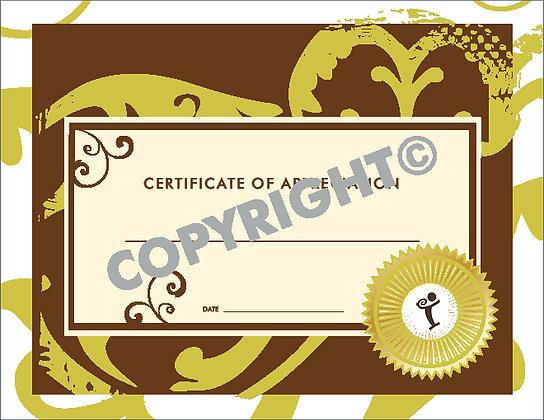 WorkLife Certificate of Appreciation
