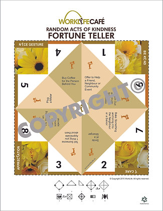 Fortune Teller: Random Acts of Kindness