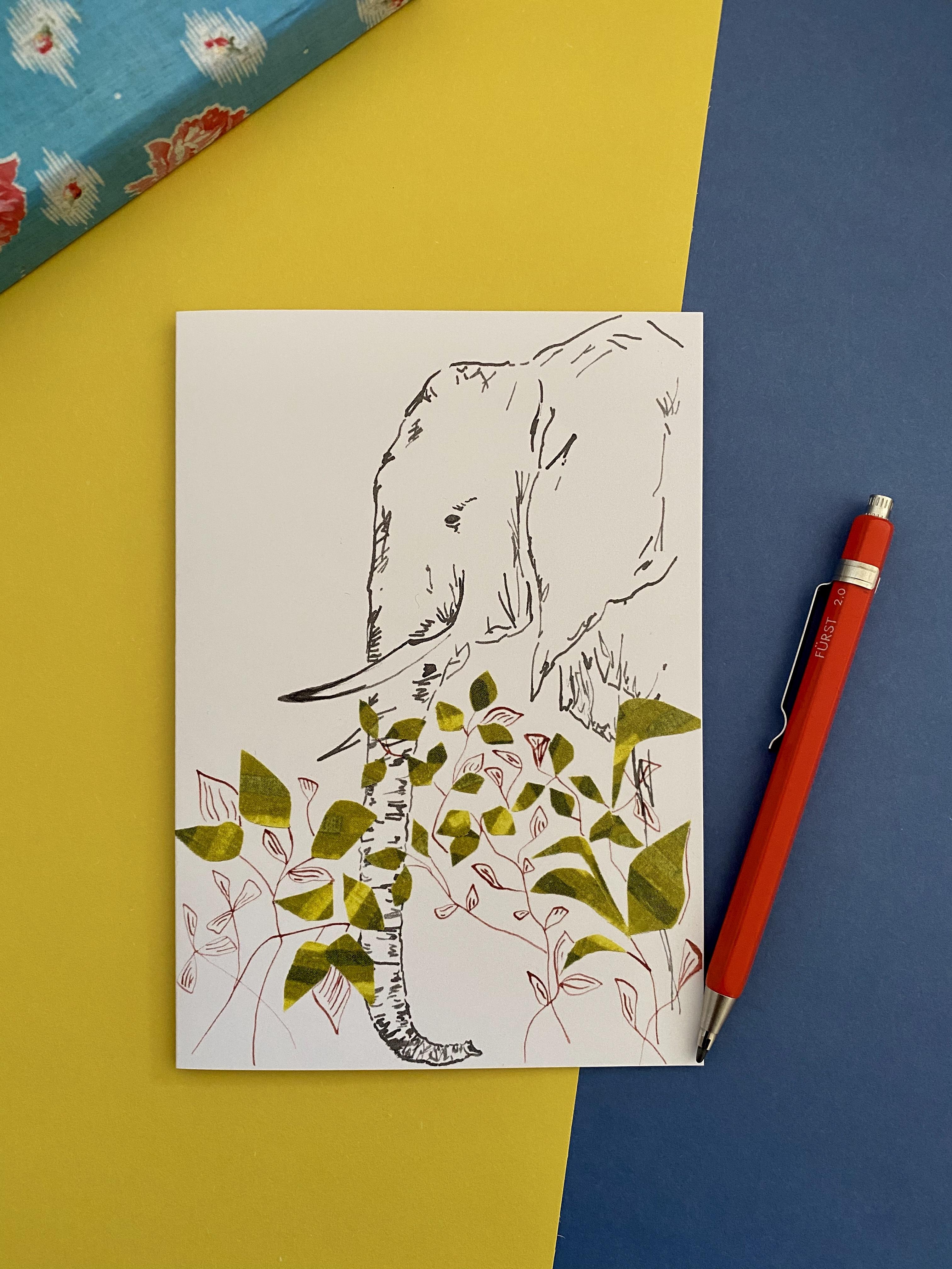 Elephant in Foliage