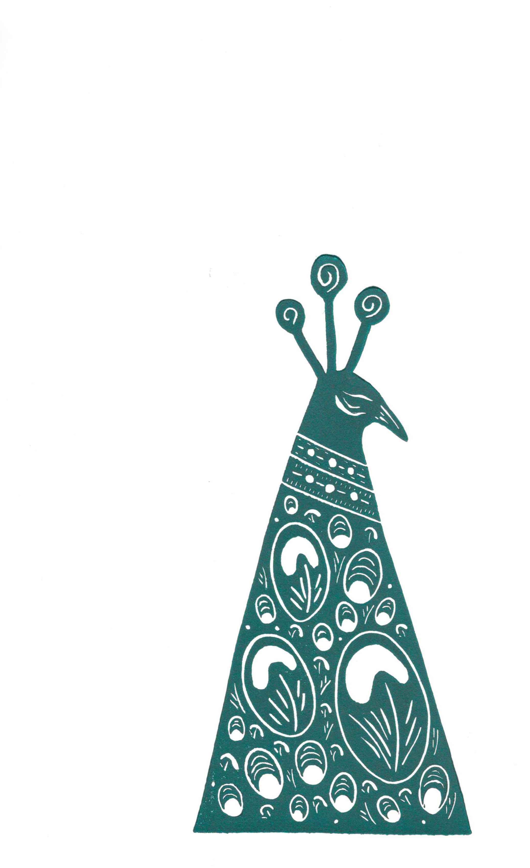 Turquoise Peacock II