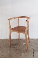 AC01L (ARM CHAIR LETHER SEAT)