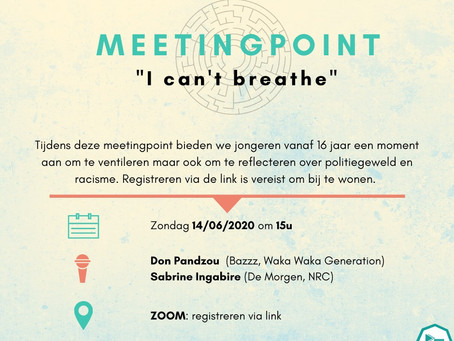 Meetingpoint: I can't breathe