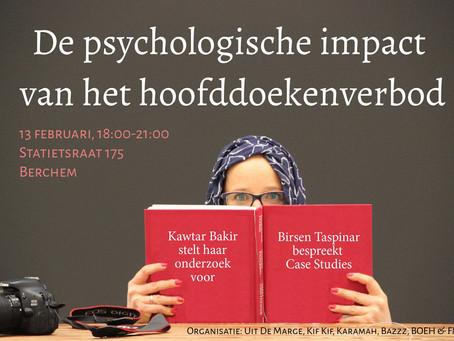 Upcoming: Meetingpoint psychologische impact van het hoofddoekverbod