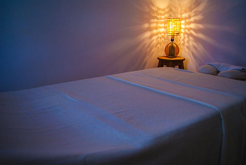 Professional massage relaxation lights a